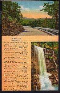 SplitView ~ Verse ~ Down in Virginia by W.D. Me. LINEN