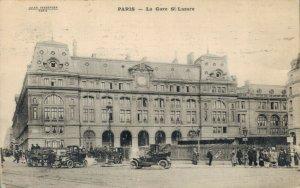 France Paris La Gare Saint Lazare 03.32
