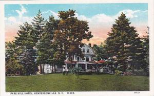 North Carolina Hendersonville Park Hill Hotel