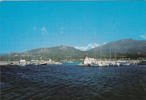 Corse Ile d'Amour , Sant-Ambroggio , Le Port de Plaisance , France , 50-70s