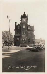 RP: CLINTON , Ontario , Canada , 1930s ; Post Office