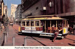 Powell & Market Street Cable Car Turntable - San Francisco, California