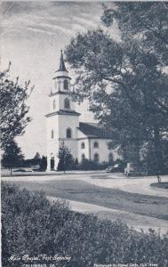 Main Chapel, Fort Benning, Columbus, Georgia, 1920-40s