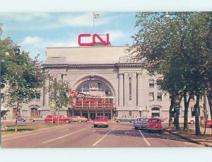 Pre-1980 CANADIAN NATIONAL CN TRAIN DEPOT STATION Winnipeg Manitoba MB F9993