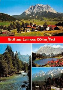 Gruss aus Lermoos Tirol, Gesamtansicht Berg Mountains Lake Landscape Panorama