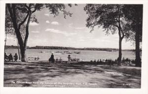 RP: Ottawa River from lawns , Seigniory Club , Quebec , Canada, 30-40s