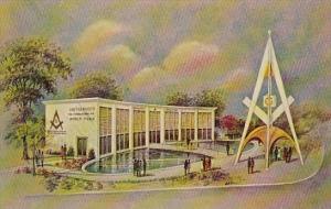 Masonic Brotherhood Center Sponsored By The Grand Laodge New York Worlds Fair...