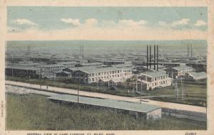 FT. RILEY Kansas, 1900-10s; General View of Camp Funston