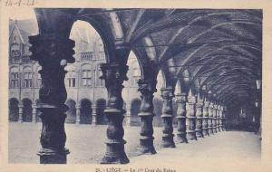 Belgium Liege La 1er Cour du Palais 1923