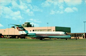 Ohio Dayton James M Cox International Airport With TWA Jet