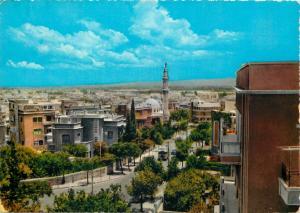 Damascus Syria 1960s Damas Abi ElAla Street islam mosque