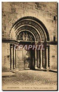 Old Postcard Kaysersberg The Parish Church Portal