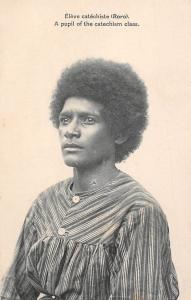 Papua New Guinea, Eleve Catechiste (Roro) A Pupil of the Catechism Class