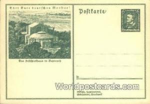 Das Seftfpielhaus in Bayreuth Germany, Deutschland Postcard  Das Seftfpielhau...