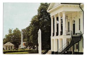 SC Barnwell County Courthouse South Carolina Confederate Monument Vntg Postcard