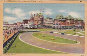 New Jersey Atlantic City Marlborough Blenheim Hotel 1947
