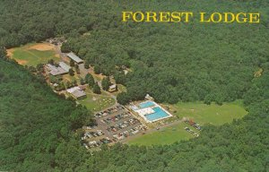 WARREN, New Jersey, 1940-60s; Forest Lodge, Aerial View