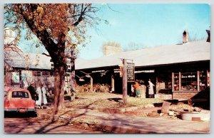 Nashville Indiana~Shopper's Lane~Brown County Folks Shop~1950s Station Wagon~PC