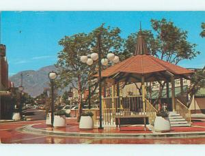 Unused Pre-1980 OLD CARS & SHOPS ALONG DOWNTOWN MALL Upland CA t4056-12