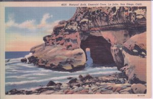 LA JOLLA - NATURAL ARCH at EMERALD COVE near SAN DIEGO, 1930/40s