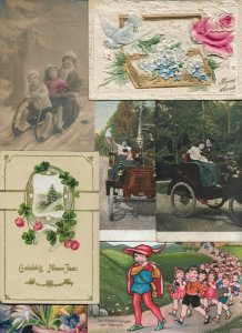 Christmas - Kids Military Pigeon And More Postcard Lot of 18  - 01.04
