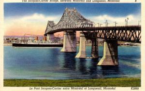 Canada - Quebec, Montreal. Jacques-Cartier Bridge