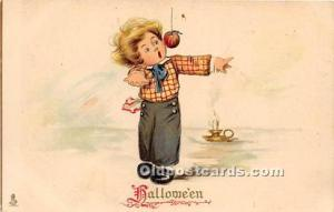 Halloween Postcard Old Vintage Antique Postcard Post Card Raphael Tuck & Sons...