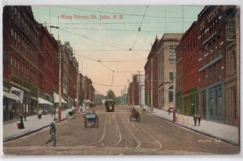 King St, Saint John NB