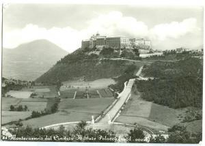 Italy, Montecassino dal Cimitero Militare Polacco, unused real photo Postcard