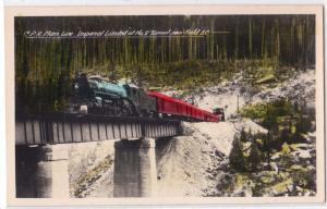 C.P.R. main Line, Imperial limited, No.2 Tun, near Field BC
