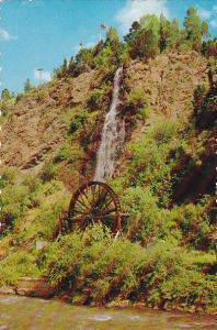 Colorado Idaho Springs Charles Taylor Water Wheel
