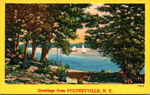 New York Greetings From Pultneyville