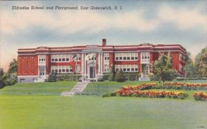 Rhode Island East Greenwich Eldredge School And Playground