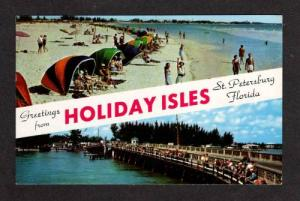 FL Greetings from Holiday Isles ST PETERSBURG FLORIDA