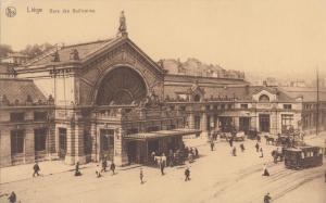 Belgium, Liege, Gare des Guillemins, early 1900s unused Postcard