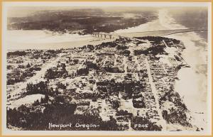 RPPC-Newport, Oregon from the air
