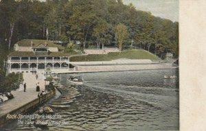 CHESTER , West Virginia, 1907 ; Rock Spring Park , Lake & Bathing Pool