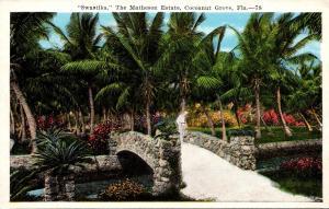 Florida Miami Cocoanut Grove Swastika The Matheson Estate