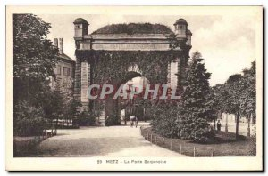 Old Postcard Metz Gate Serpenoise