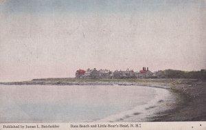 NEW HAMPSHIRE, PU-1925; Bass Beach And Little Boar's Head