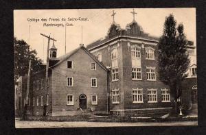 PQ Sacred Heart College MONTMAGNY QUEBEC Postcard Carte Postale QC