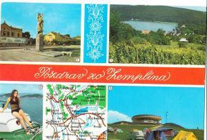 Czech Republic, Pozdrav zo zemplina, 1975 used Postcard