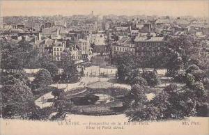 France Le Havre Perspective de la Rue de Paris