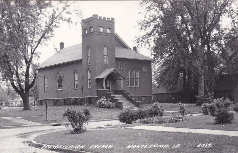 RP: MONTEZUMA, Iowa, 1930-50s ; Presbyterian Church