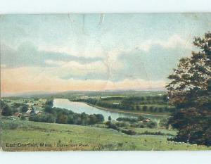 Bent Divided-Back POSTCARD FROM East Deerfield Massachusetts MA HM6626