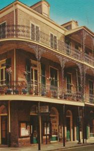 Louisiana New Orleans Lace Balconies At Royal & At Ann STreets 1966