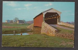 Covered Bridge - Bower's Bridge No Longer Standing