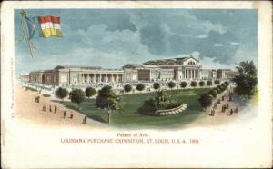 1904 Louisiana Purchase Expo St. Louis Palace of Arts Postcard