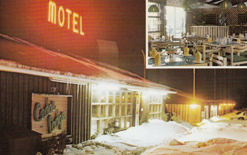 DALHOUSIE , New Brunswick, Canada, 40-60s; Cedar Lodge Motel