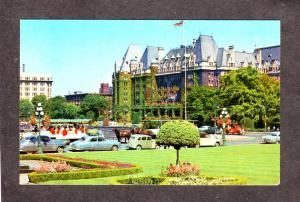 BC CPR Empress Tally Ho Victoria British Columbia Canada Postcard Carte Postale